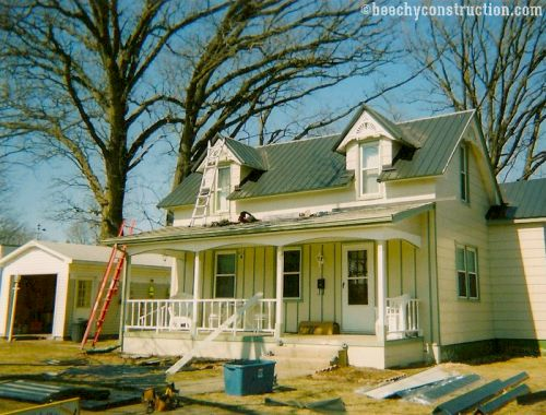 Metal roofing installation company Springfield IL