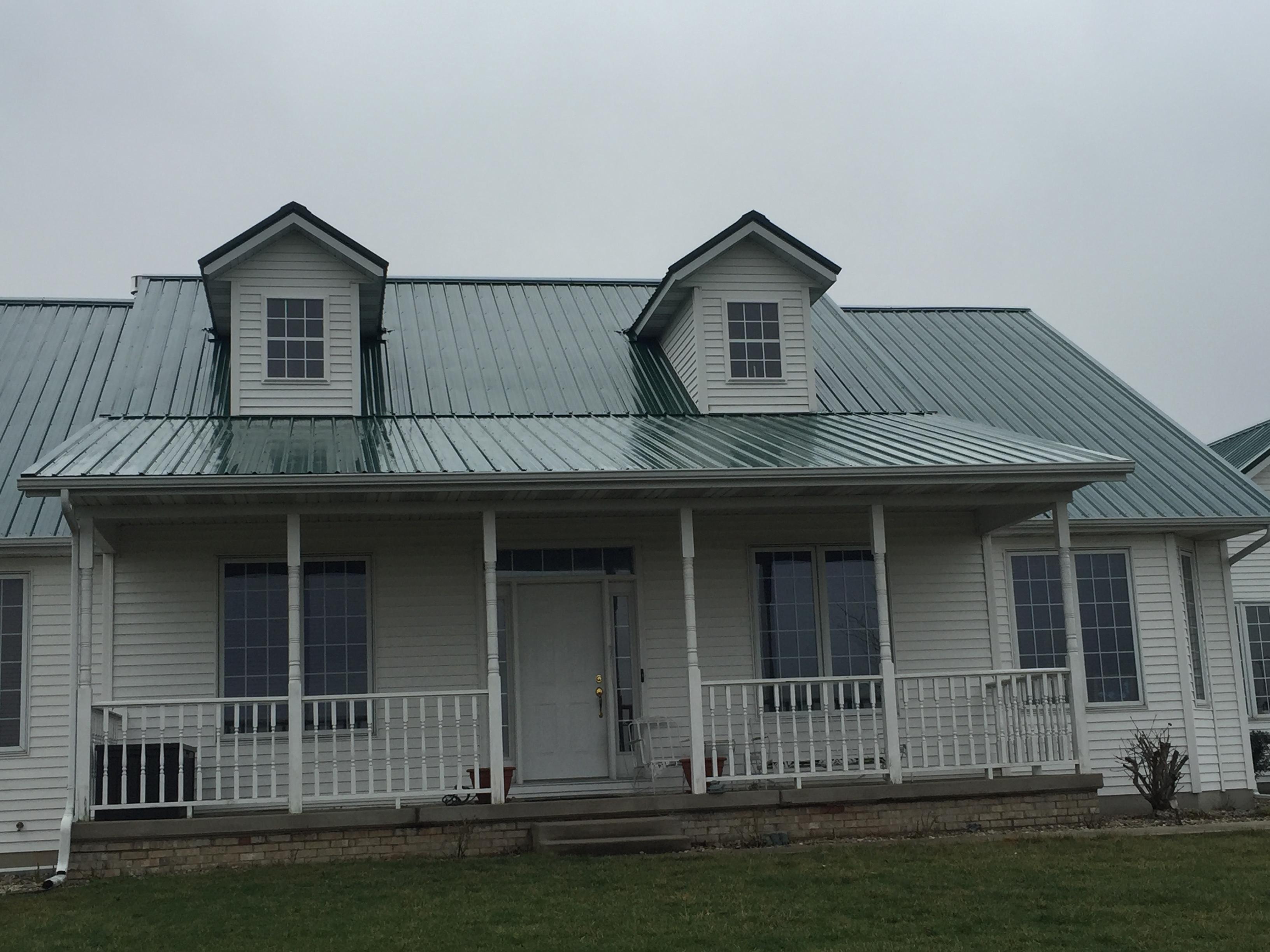 Beechy S Construction Exposed Fastener Metal Roof In
